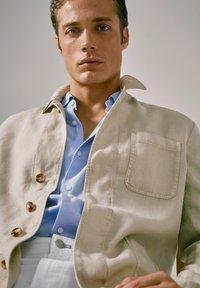 Massimo Dutti - blazer - beige - 3