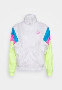 TRACK JACKET  - Summer jacket - white