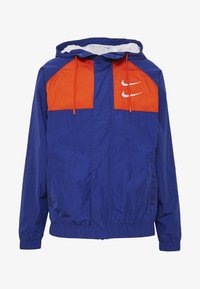 Nike Sportswear - Summer jacket - deep royal blue/team orange/white - 4