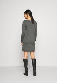 Anna Field - Jumper dress - dark grey mélange - 2