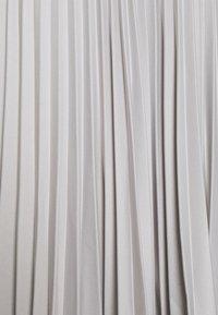 Closet - CLOSET D RING WRAP FULL SKIRT DRESS - Cocktail dress / Party dress - silver - 2
