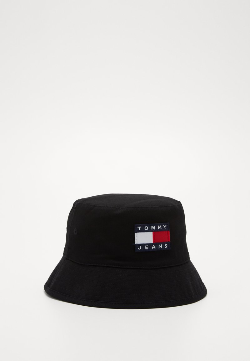 Tommy Jeans - HERITAGE BUCKET - Hat - black