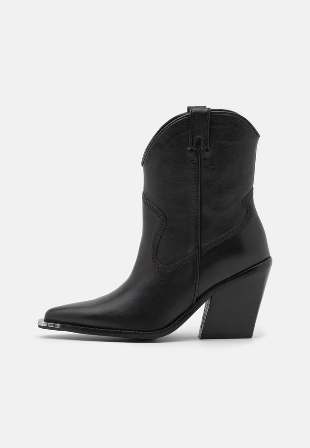 NEW KOLE - Bottines à talons hauts - black
