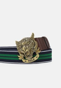 Polo Ralph Lauren - TIGER CASUAL - Riem - french navy/kelly green - 2