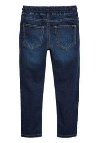Next - VINTAGE - Slim fit jeans - mottled blue - 1
