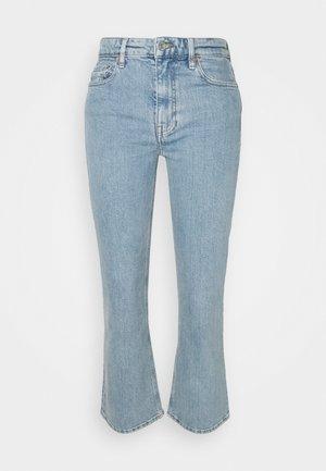KICK CROP - Slim fit jeans - repeat lighter indigo