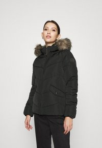 ONLY - ONLROONA QUILTED JACKET - Winter jacket - black - 0