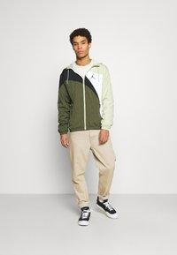Jordan - JUMPMAN  - Training jacket - celadon/cargo khaki/white/black - 1