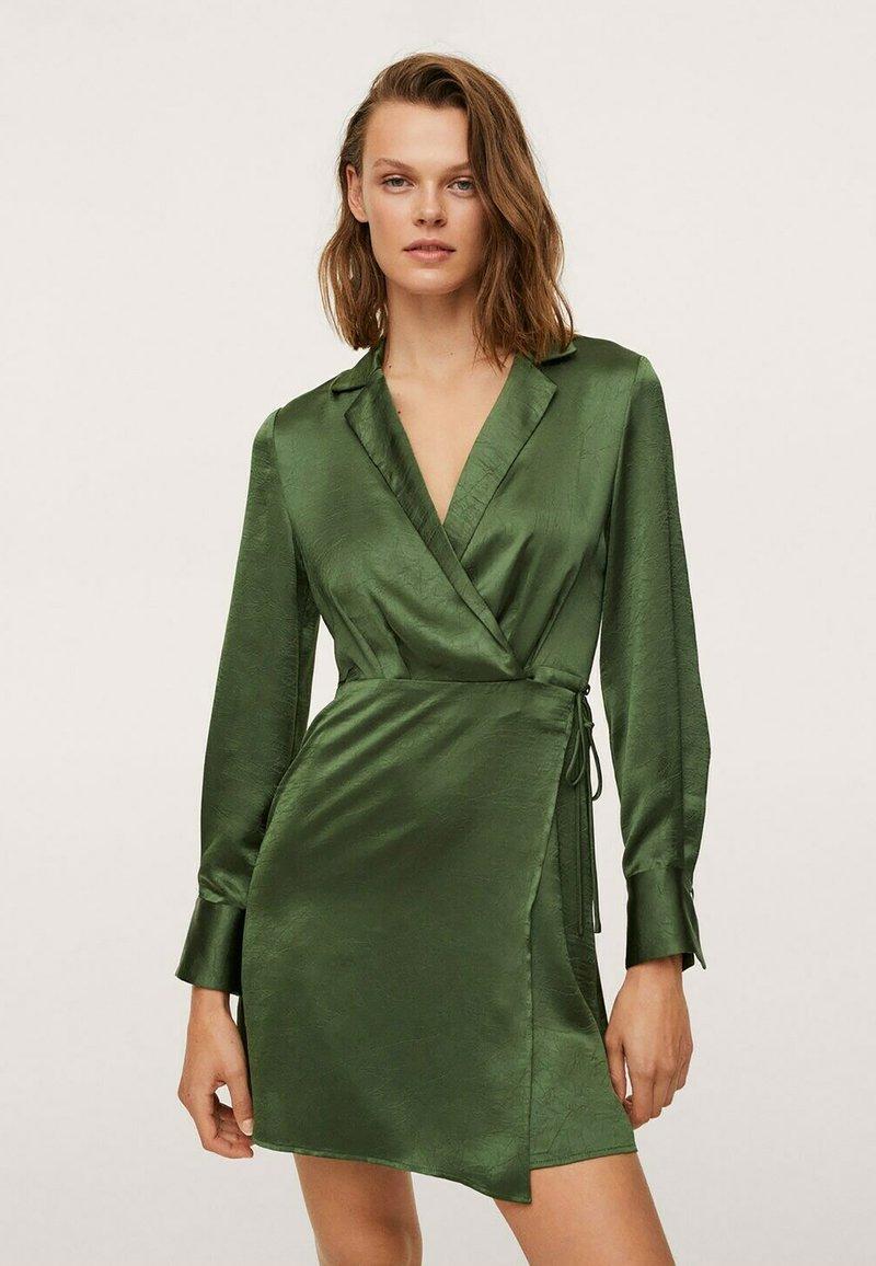Mango - Jerseyjurk - grønn