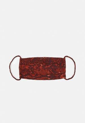 FACE MASK - Stoffen mondkapje - rustic brown