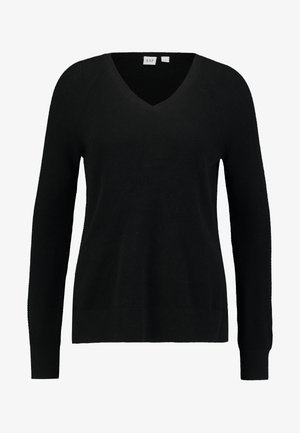 BELLA - Strikpullover /Striktrøjer - true black