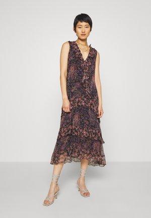 COSMIC LOVE MIDI DRESS - Denní šaty - black