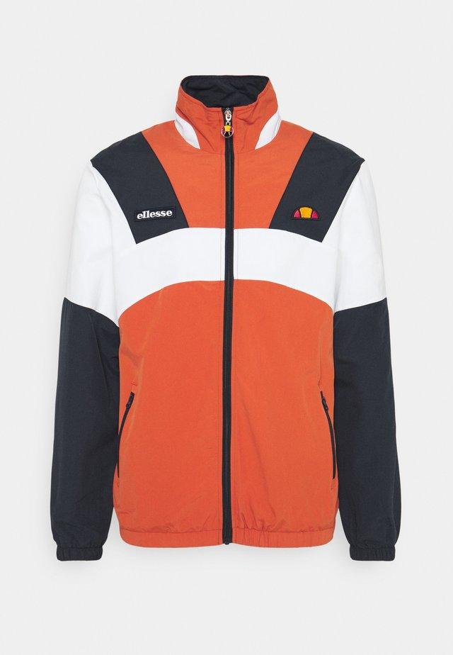 GONZAGA JACKET - Summer jacket - dark orange