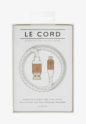Cable de carga - white/wood