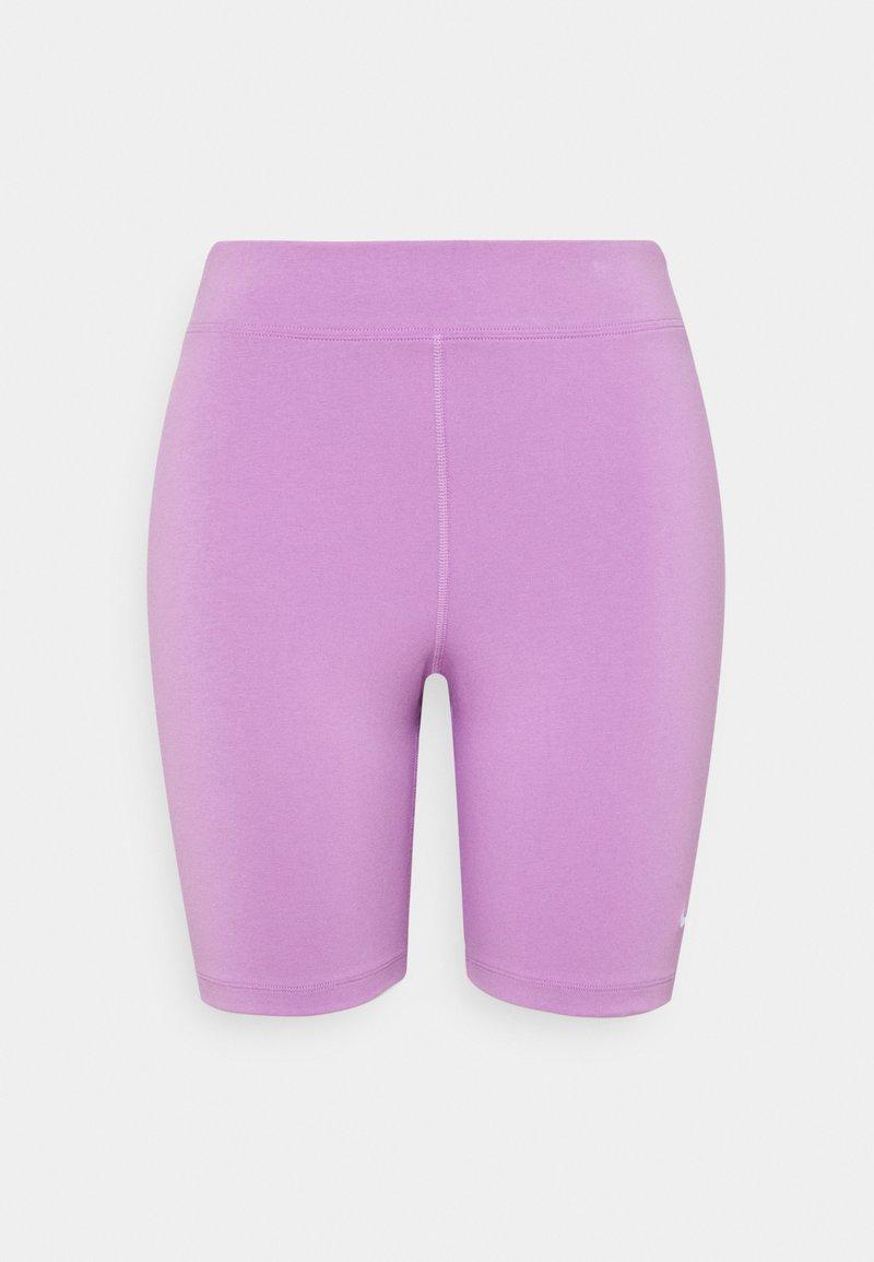 Nike Sportswear - BIKER  - Short - violet shock/white