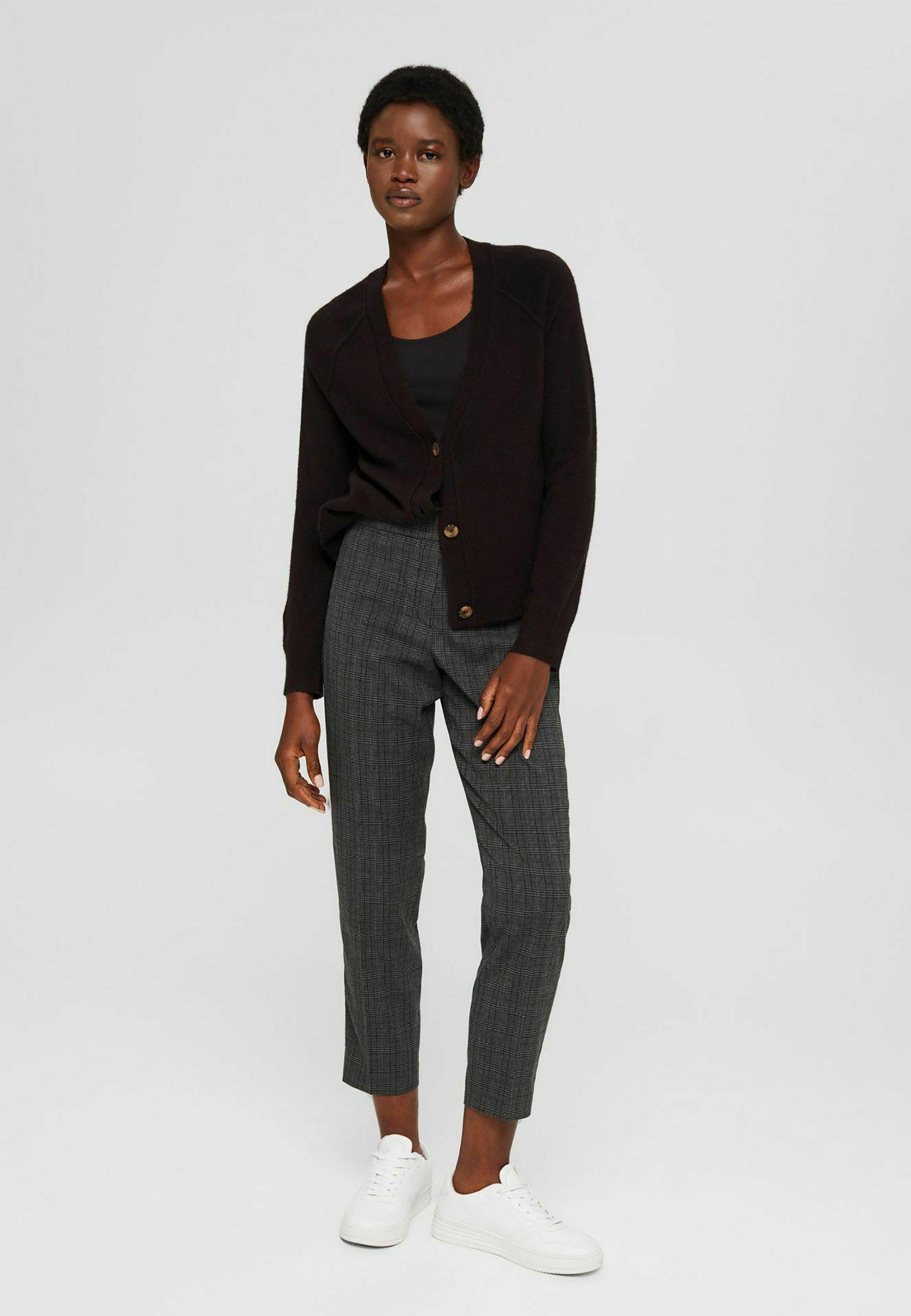 Femme CROPPED MIT ELASTIKBUND - Pantalon classique