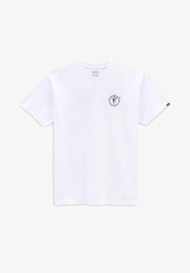 MN BIT BY BIT SS - T-shirt con stampa - white