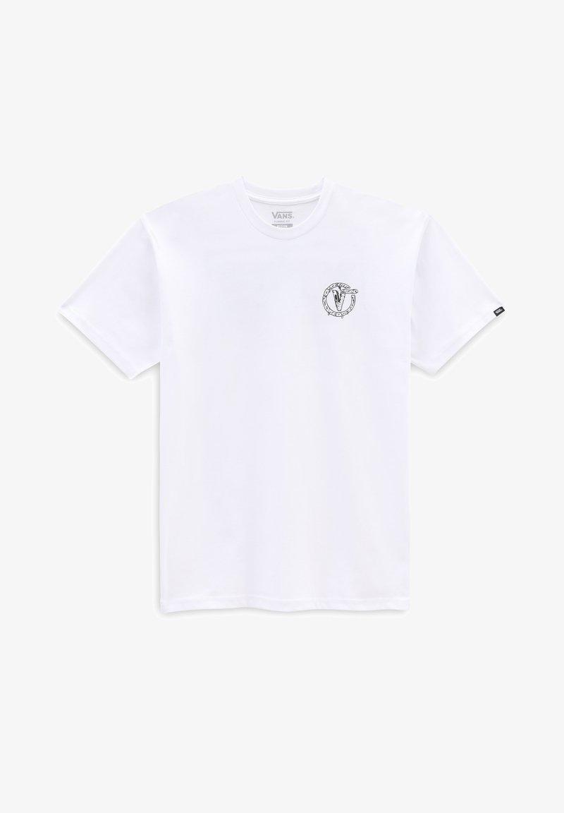Vans - MN BIT BY BIT SS - Print T-shirt - white