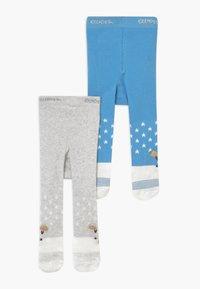 Ewers - BOY 2 PACK - Panty - grau/hellblau - 0