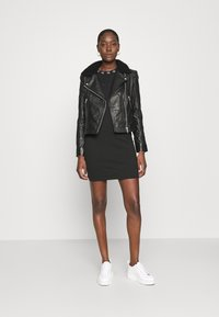 Calvin Klein Jeans - Leather jacket - black - 1