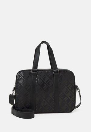 SOFT BRIEFCASE UNISEX - Laptop bag - black