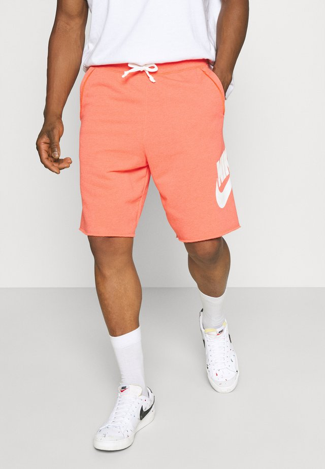 ALUMNI - Pantaloni sportivi - turf orange