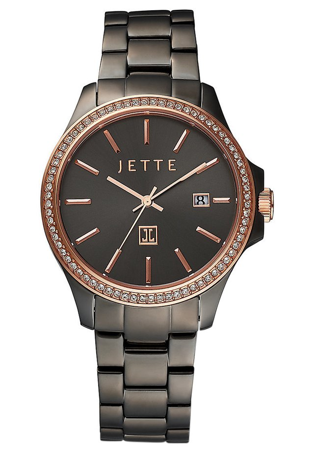 JETTE TIME DAMEN-UHREN ANALOG QUARZ - Watch - grau