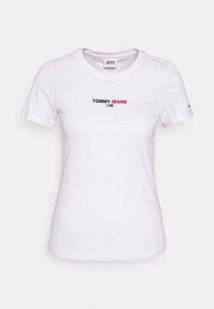 FLAG TEE - Print T-shirt - white
