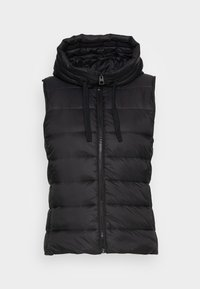 Marc O'Polo - RECYCLED VEST FIX HOOD STAND UP COLL - Vesta - black - 3