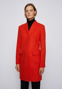 BOSS - Classic coat - dark orange - 0