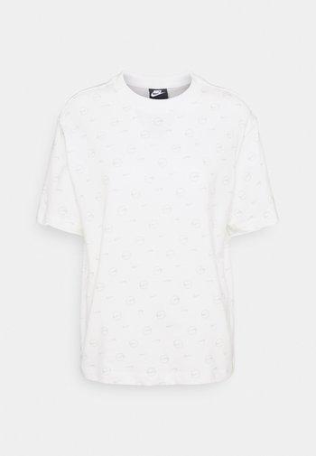 TEE - Print T-shirt - light bone