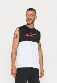 Nike Performance - TANK DRY ENERGY - Sports shirt - white/bright crimson - 0