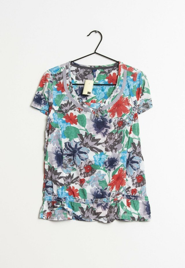 T-shirt print - multi-colored