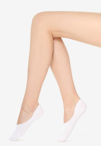 Trainer socks - white