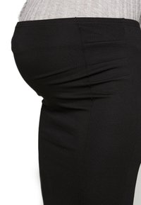 MAMALICIOUS - MLLUNA PINTUC SKIRT - Pencil skirt - black - 4
