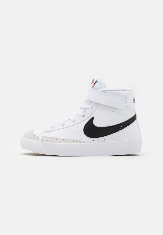 BLAZER MID '77 UNISEX - Sneakers alte - white/black/total orange