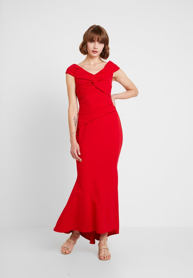 MARENA - Maxi šaty - red