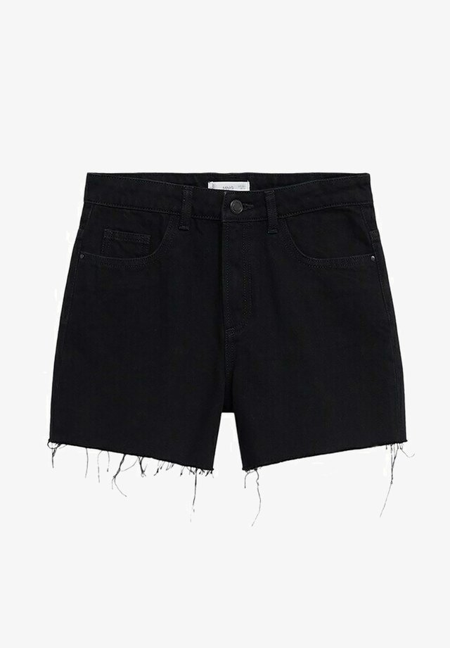 LAUREN - Jeansshort - black denim