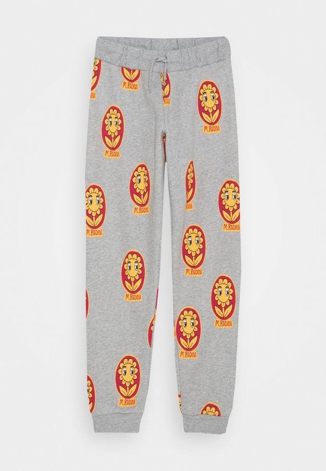 FLOWER UNISEX - Pantaloni sportivi - grey melange