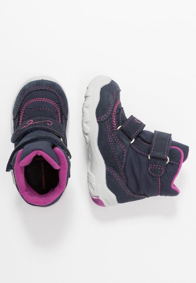 GALA - Winter boots - blau/pink