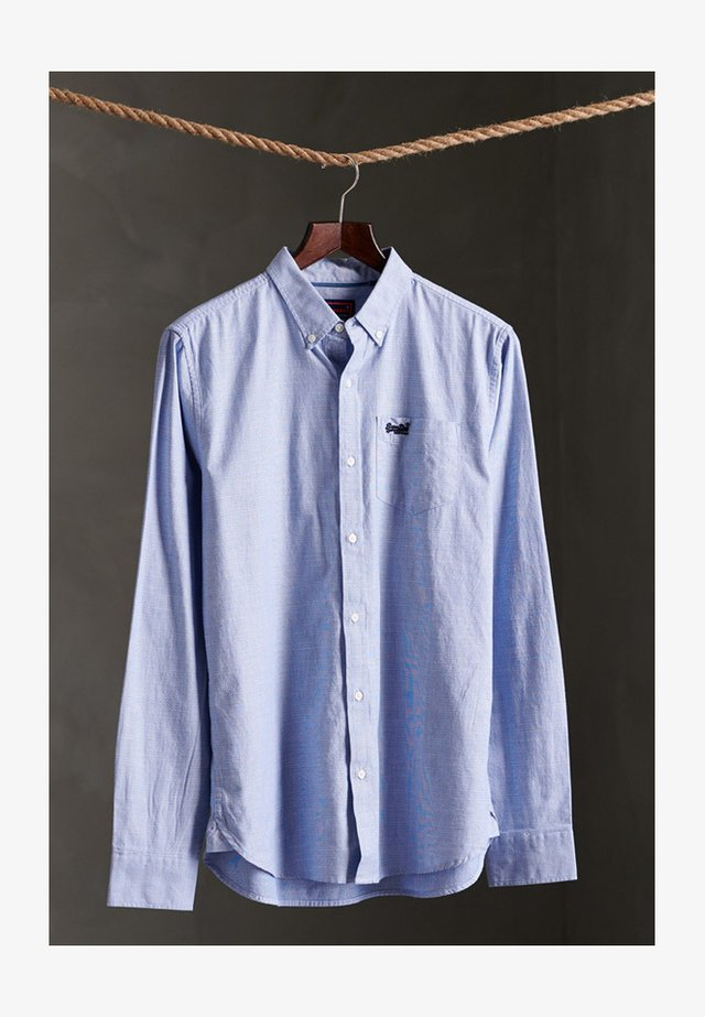 UNIVERSITY OXFORD - Shirt - Broken Oxford Blue