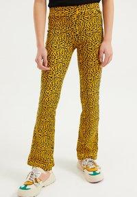 WE Fashion - Broek - yellow - 1