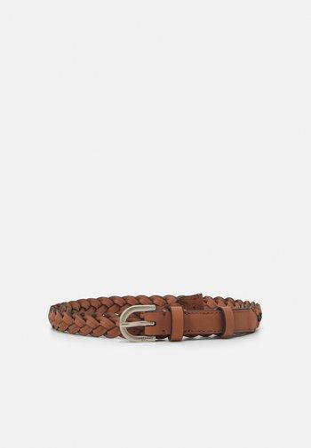 BELT OLIVIA - Braided belt - dusty blush