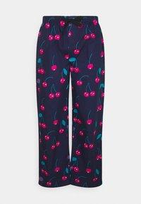 Lousy Livin Underwear - PYJAMA PANT CHERRIES - Pyžamový spodní díl - blue dive - 0