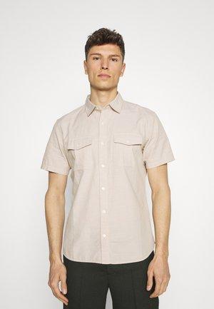 UTILITY POCKET - Shirt - beige