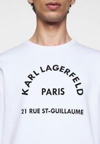 KARL LAGERFELD - Sweatshirt - white - 5