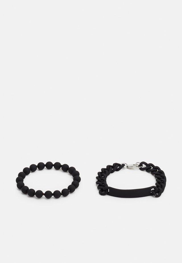 2 PACK - Armband - black
