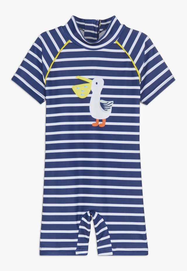 BADEOVERALL UV PROTECTION BABY - Plavky - navy