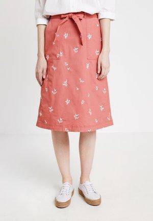 SCENTFUL SKIRT - Áčková sukně - washed pink