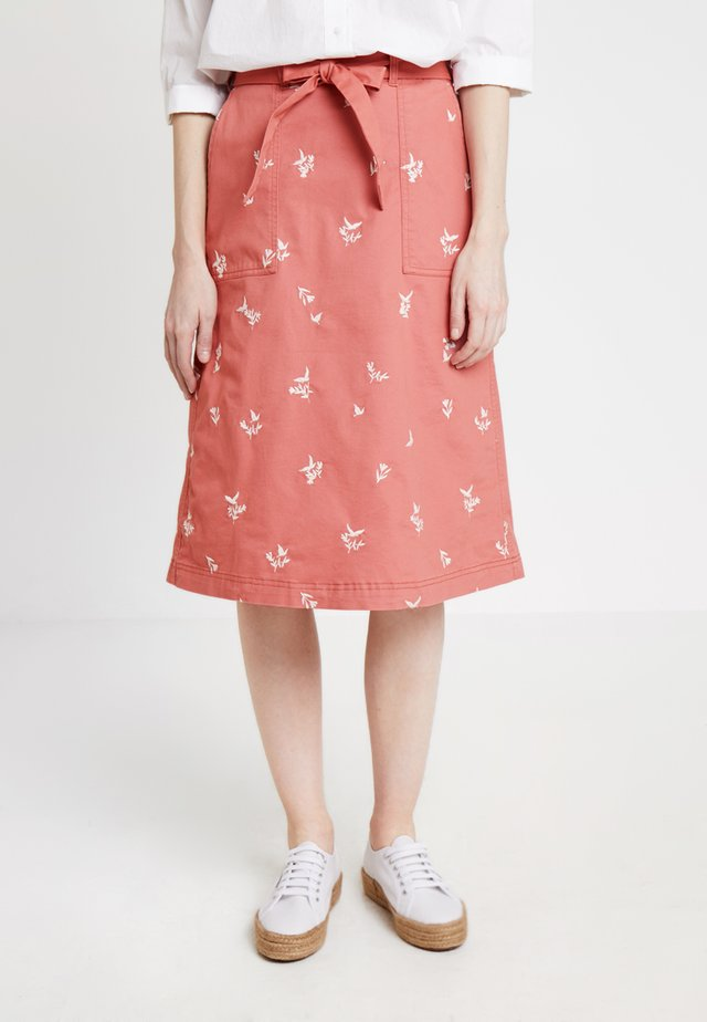 SCENTFUL SKIRT - Jupe trapèze - washed pink